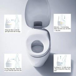 Phòng tắm mang phong cách Nhật Bản từ thiết bị vệ sinh TOTO cao cấp