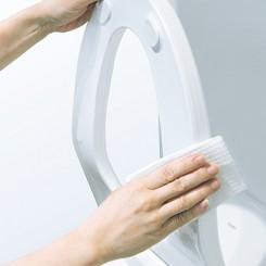 Hướng dẫn vệ sinh bồn cầu thông minh TOTO nội địa Nhật Bản