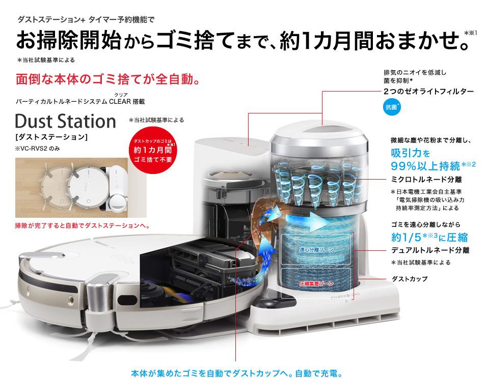 Robot hút bụi thông minh Toshiba VC-RVS2